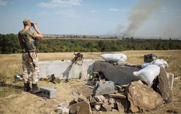 Штаб АТО: Украинские позиции были обстреляны 23 раза