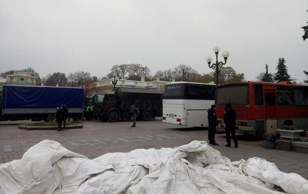 У Києві перекрито рух в центрі - нардеп