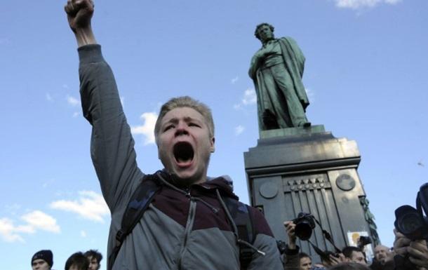 Исследование: В РФ существенно увеличилось количество протестов