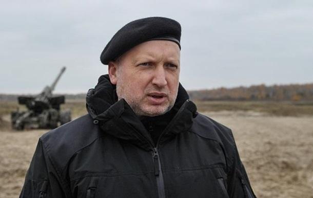 Турчинов: Успішно випробували українські боєприпаси