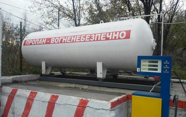 В Запорожье закрыли нелегальные газовые АЗС