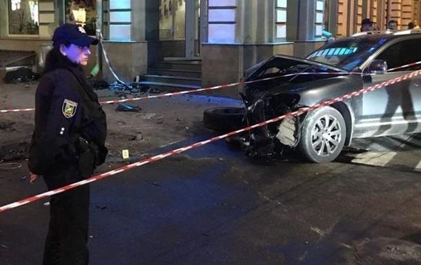 ДТП в Харькове: водитель Touareg заявил о слежке