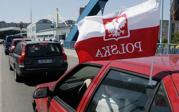 Пьяный украинец ударил польского таможенника на границе