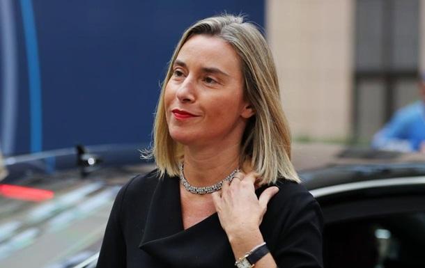 Могерини: ЕС собирается расширить санкции против Сирии