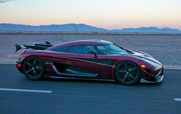 Визначене найшвидше серійне авто у світі