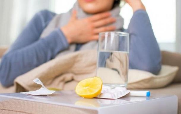 В Украине снизилось число заболевших ОРВИ и гриппом