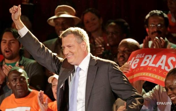 Білл де Блазіо переобраний мером Нью-Йорка