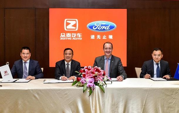 Ford вкладе мільйони у виробництво електрокарів в Китаї