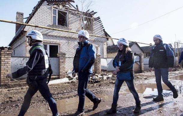 ОБСЄ нарахувала 225 вибухів на Донбасі