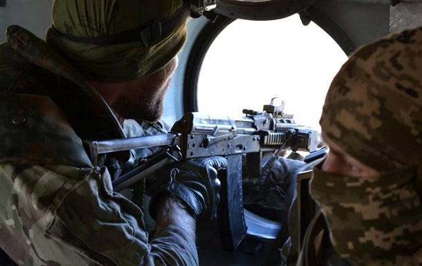 Штаб АТО: Украинские позиции 19 раз попали под обстрел