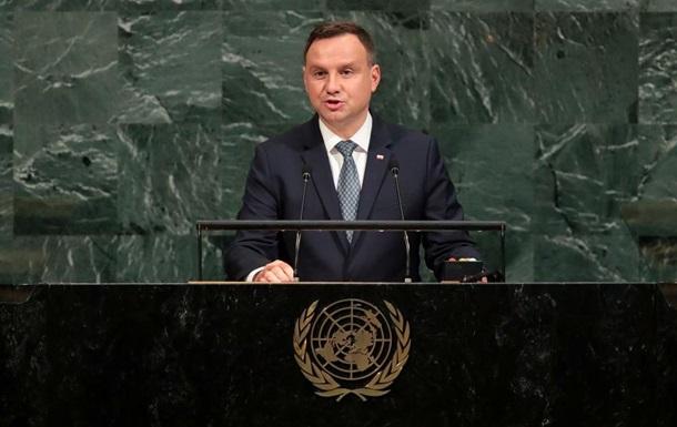 Президент Польши намерен приехать в Украину