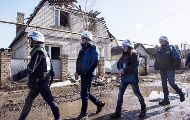 ОБСЄ: За тиждень на Донбасі п ять тисяч порушень