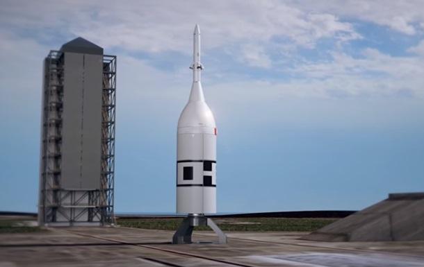 NASA показало на видео запуск лунного корабля