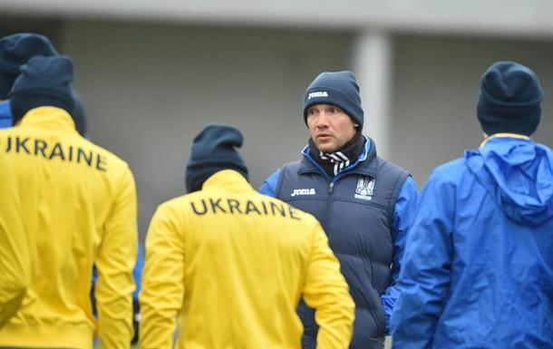 Шевченко довызвал вфутбольную сборную Украины Шахова иТанковского
