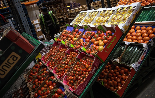 Украина лидирует по росту цен на продукты в Европе