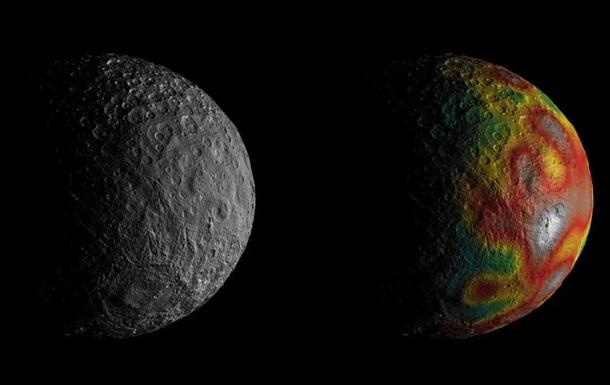 Астрономы обнаружили следы океана на Церере