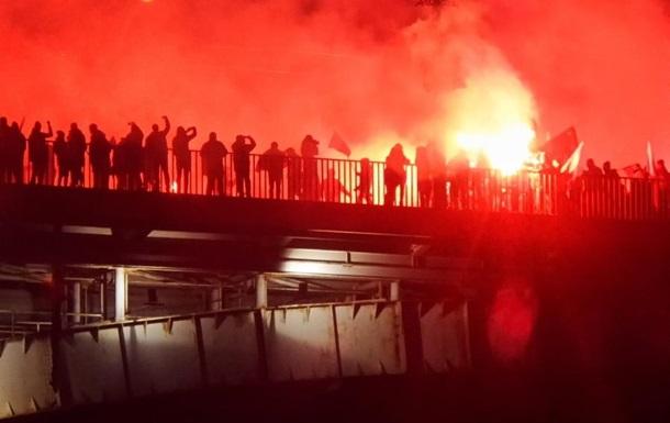 У Варшаві затримано 20 осіб під час маршу незалежності