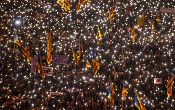 У Барселоні вийшли на мітинг 750 000 осіб