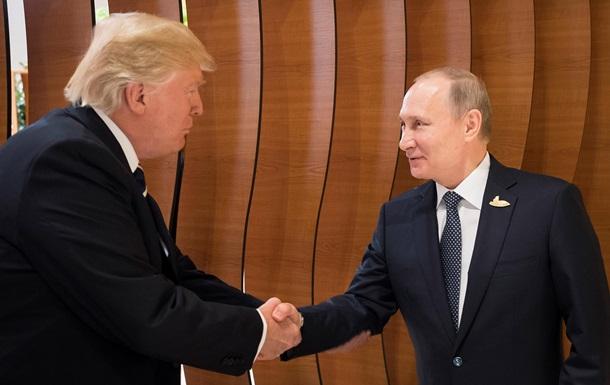 Путін і Трамп обговорили Україну