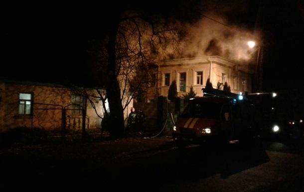 В Ровно горел жилой дом: погиб мужчина