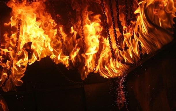 На рынке во Львове случился пожар
