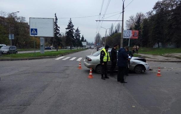 При ДТП в центре Запорожье пострадали двое детей