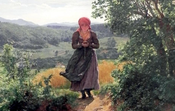 На картине XIX века заметили  iPhone