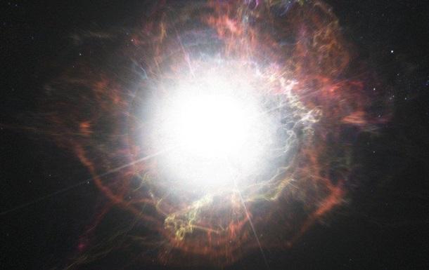 Вчені виявили наднову зірку- зомбі