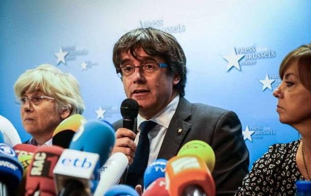 Пучдемон змінив думку про незалежність Каталонії