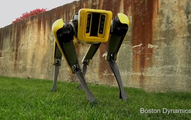 На видео показали робота-собаку от Boston Dynamics