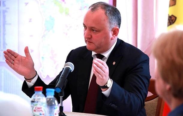 Додон: Молдові не потрібна власна армія
