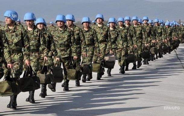 Киев: Две страны готовы финансировать миротворцев
