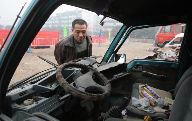 В Китае столкнулись более 30 автомобилей