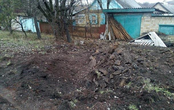 Жебривский показал последствия обстрела из Градов