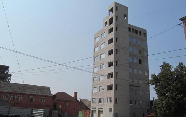 У Харкові знесуть дев ятиповерхівку, збудовану на місці гаража