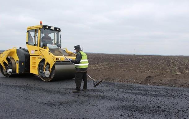 ВЗапорожской области готов очередной участок дороги