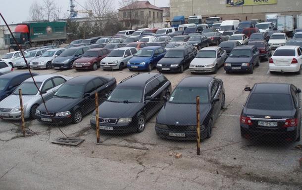 У Київській області чиновник МВС захотів вкрасти машини зі штрафмайданчика