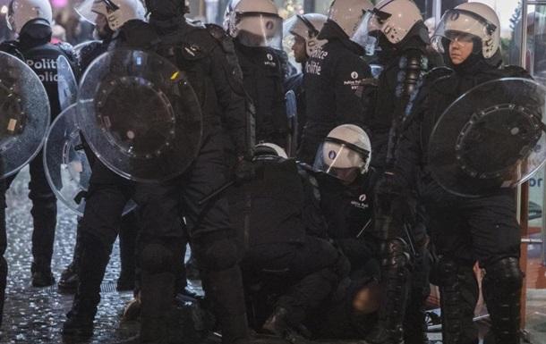 У Брюсселі сталися масові заворушення: поліція затримала 16 осіб