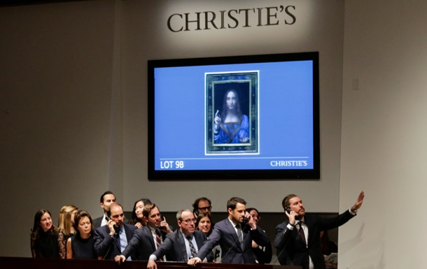 В США продана за рекордную сумму картина да Винчи