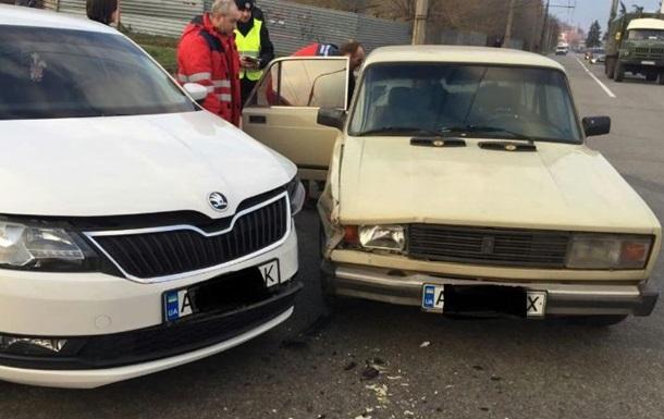 В Запорожье при аварии пострадали мать с новорожденным
