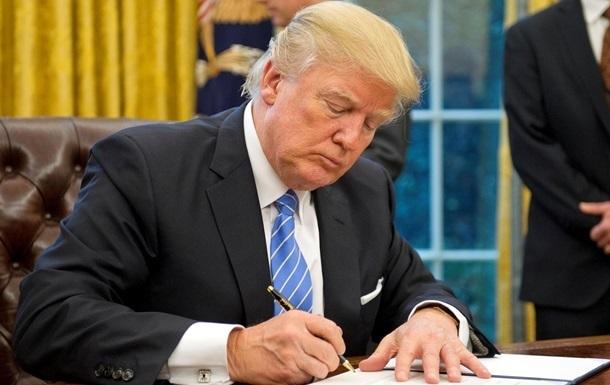 Трамп отримав на підпис оборонний бюджет США