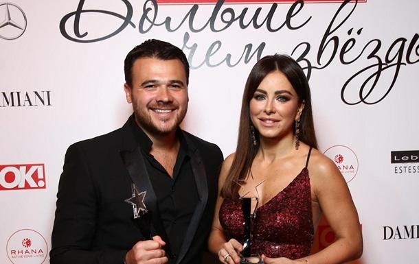 Украинские звезды посетили очередную российскую премию