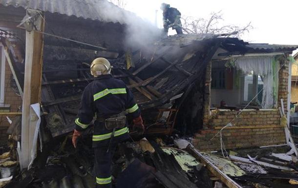 В Черкасской области произошел взрыв в жилом доме