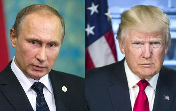 Трамп и Путин встретятся не раньше 2018 года