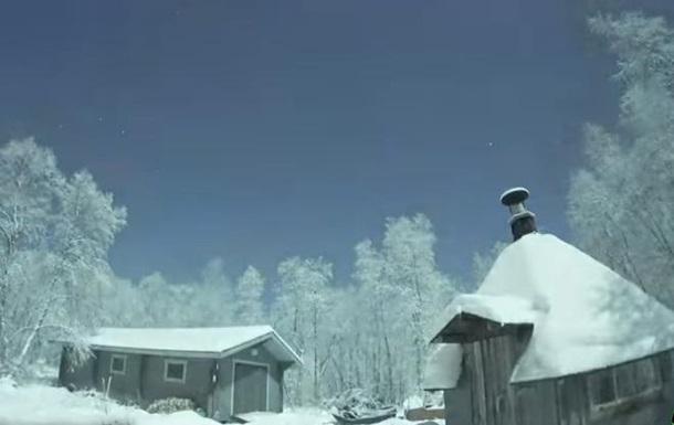 В небе над Лапландией заметили огромный метеорит