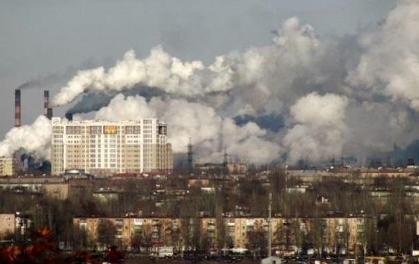 В двух районах Запорожья сильное загрязнение воздуха