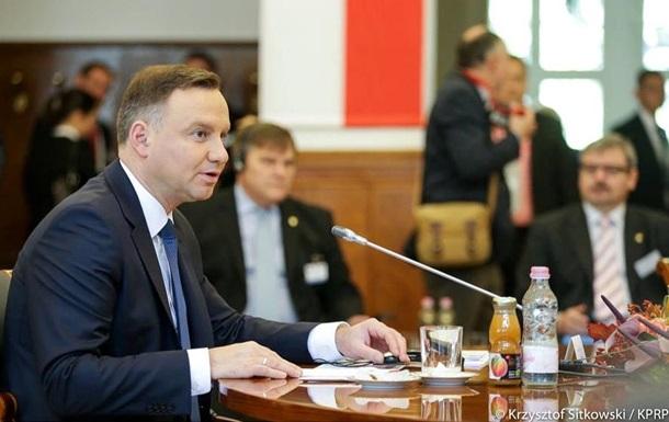 У президента Польши назвали Порошенко  Виктором
