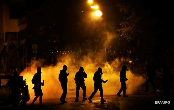В Греции массовые беспорядки, есть пострадавшие