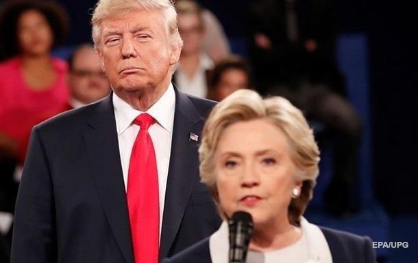 Трамп: Клінтон гірша за невдаху