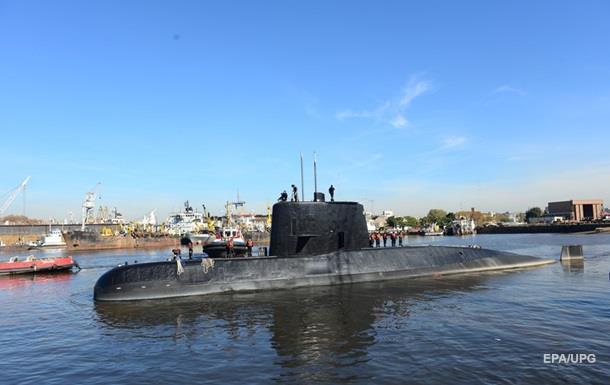 Аргентина зафіксувала сигнали зі зниклого підводного човниа